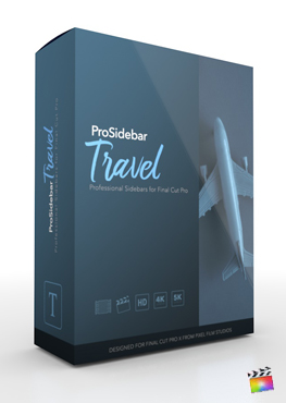Final Cut Pro Plugin - ProSidebar Travel from Pixel Film Studios