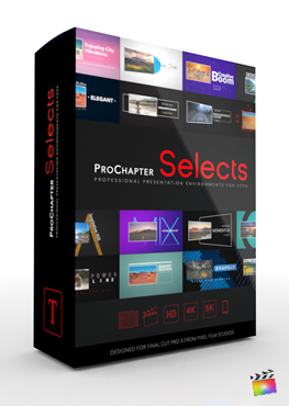Final Cut Pro Plugin - ProChapter Selects from Pixel Film Studios