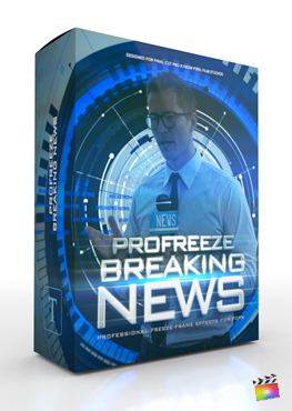 Final Cut Pro Plugin - ProFreeze Breaking News from Pixel Film Studios
