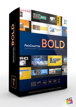 Final Cut Pro X Plugin ProChapter Bold from Pixel Film Studios