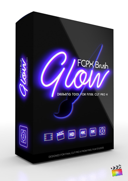 Final Cut Pro X Plugin FCPX Brush Glow from Pixel Film Studios