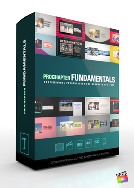 Final Cut Pro X Plugin ProChapter Fundamentals from Pixel Film Studios