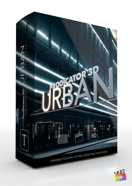Final Cut Pro X Plugin ProDicator 3D Urban