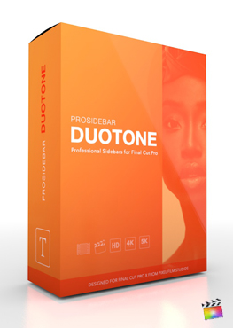 ProSidebar DuoTone - Professional Description Titles for Final Cut Pro from Pixel Film Studios
