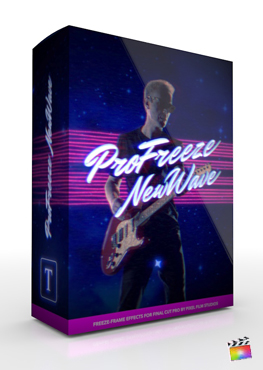 Final Cut Pro Plugin - ProFreeze New Wave from Pixel Film Studios