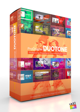 Final Cut Pro X Plugin ProChapter Duotone from Pixel Film Studios