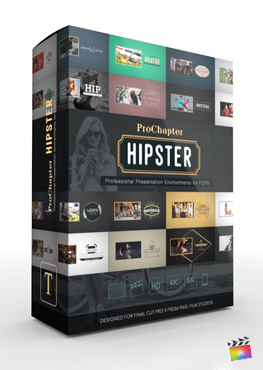 Final Cut Pro X Plugin ProChapter Hipster from Pixel Film Studios