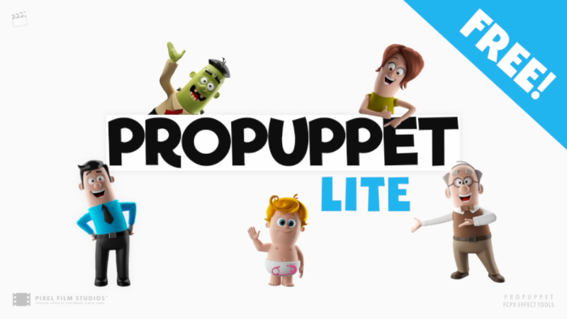 ProPuppet Lite-Email-Free - Final Cut Pro X and Motion 5