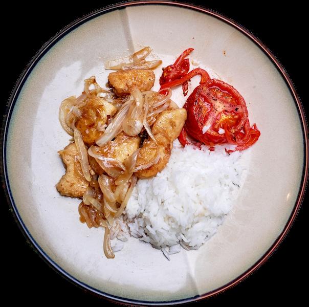 Gardein Orange Chick'n and Rice