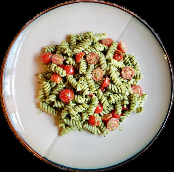 Vegan Pesto Rotini