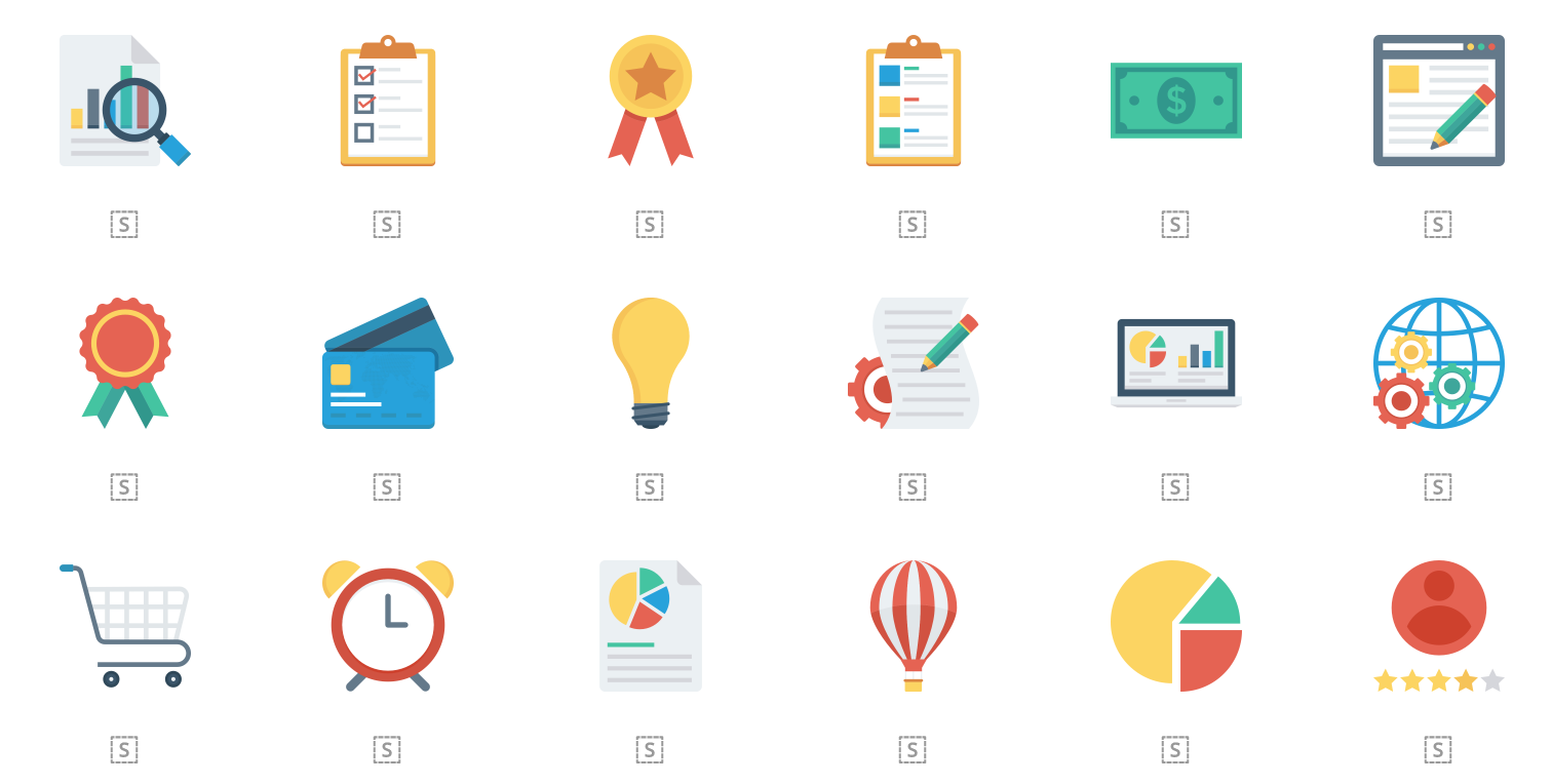 free flat icons for commercial use