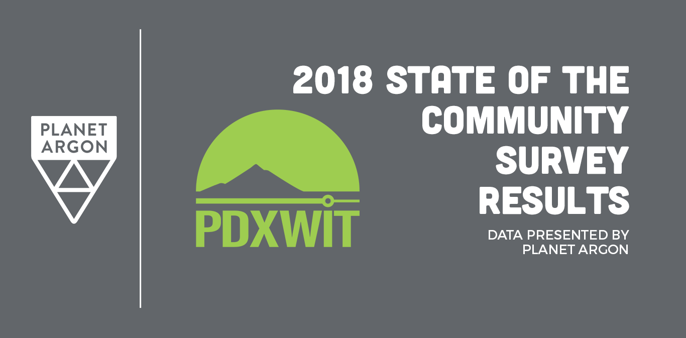 Portland Women in Tech State of the Community Results