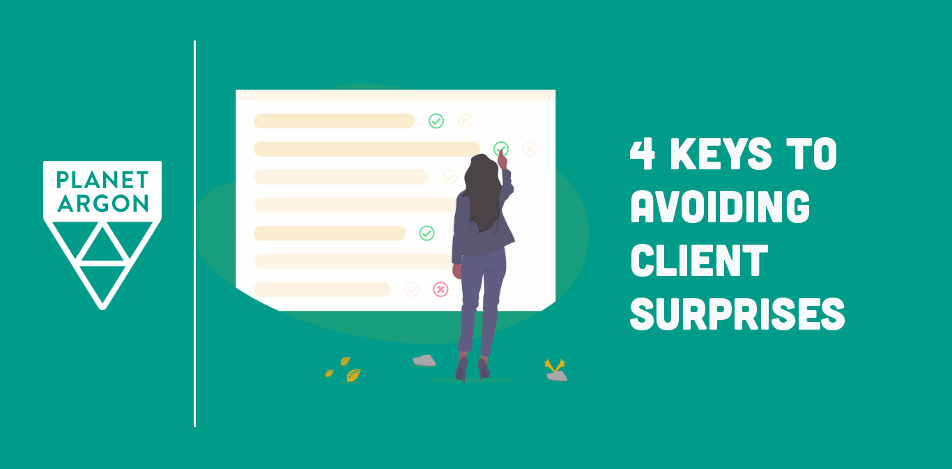 4 Keys to Avoiding Client Surprises