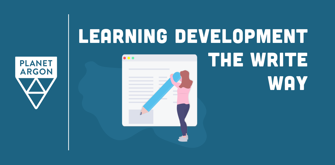 Learning Development the Write Way