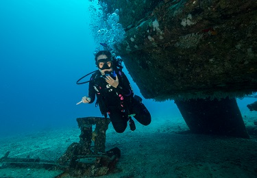 Product 2 Tank Certified Dive