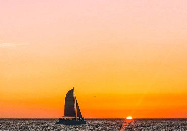 Sunset Sail- Waikiki image 1