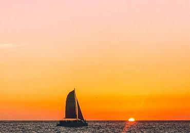 Product Sunset Sail- Waikiki