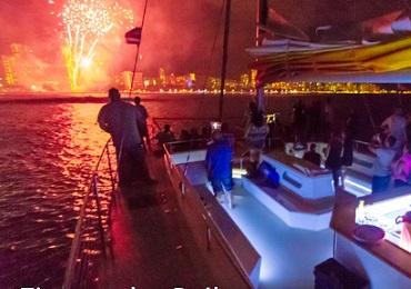 Fireworks Sail- Waikiki image 3