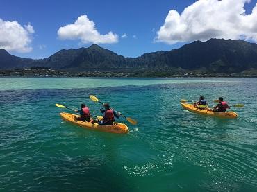 Holokai Kayak and Snorkel Adventure 3hrs image 1