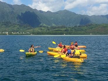 Product Holokai Kayak and Snorkel Adventure 3hrs