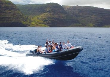 Na Pali Raft Snorkel Adventure