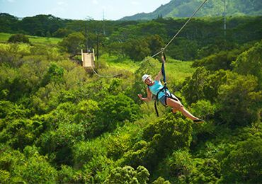 Poipu Skyline Adventure 5 Line