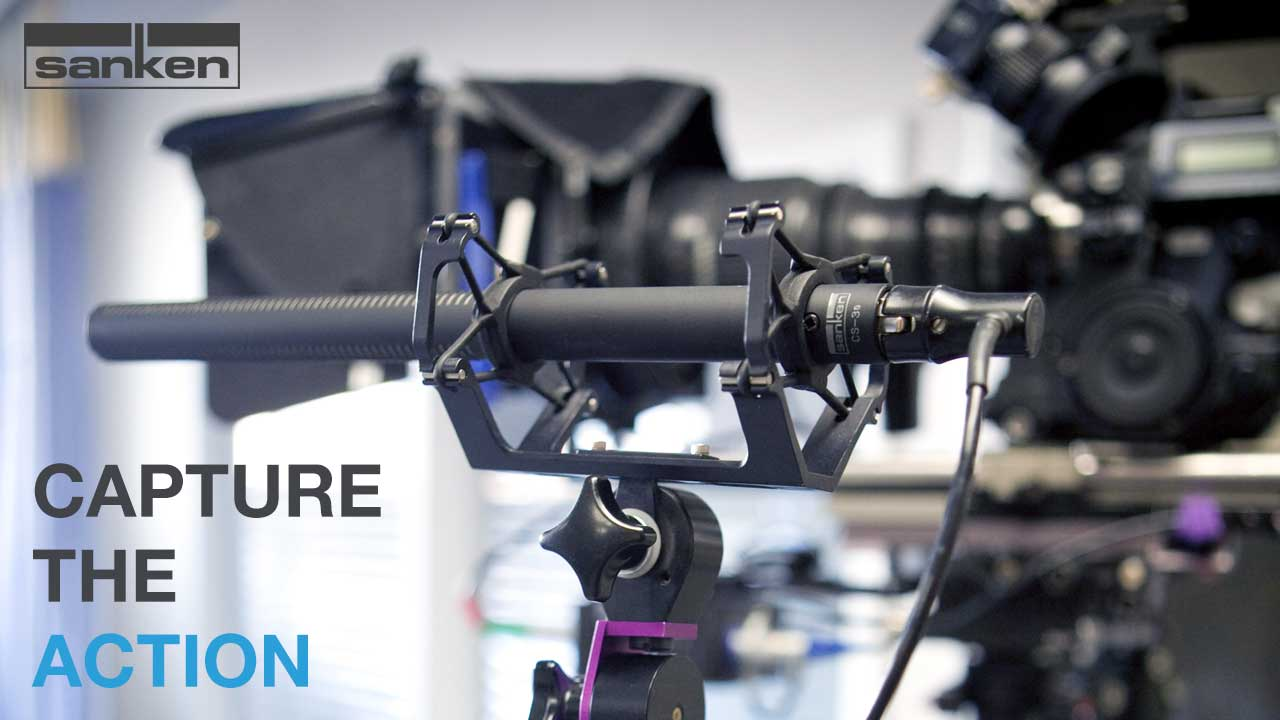 Sanken Production & Live Mics - Capture the Action