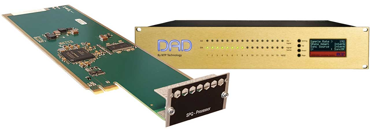 The SPQ system consist of a DSP card