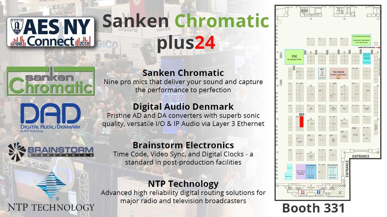 AES 2018 plus24 Sanken Chromatic