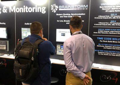 Brainstorm Electronics at InfoComm