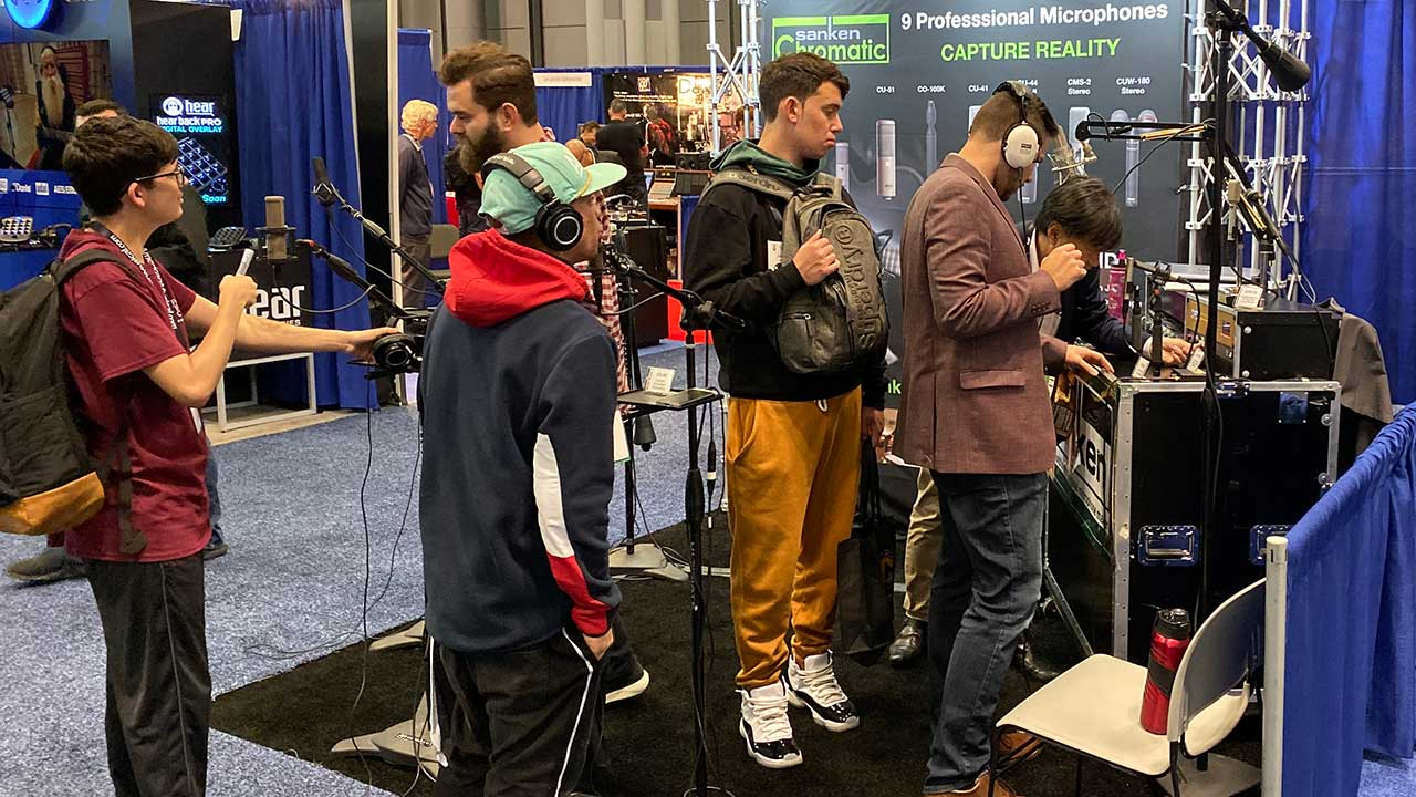 Sanken Chromatic at AES NY 2019