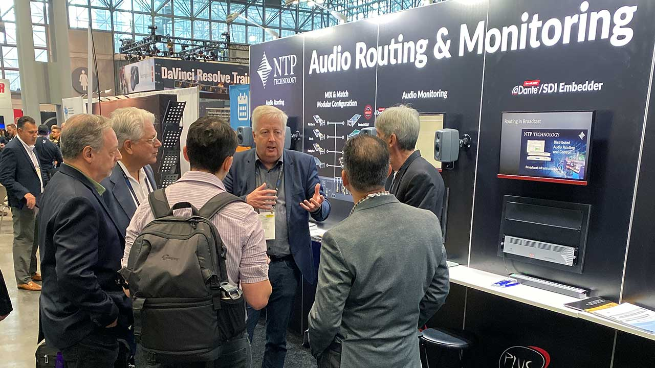 NTP Technology at NAB NY