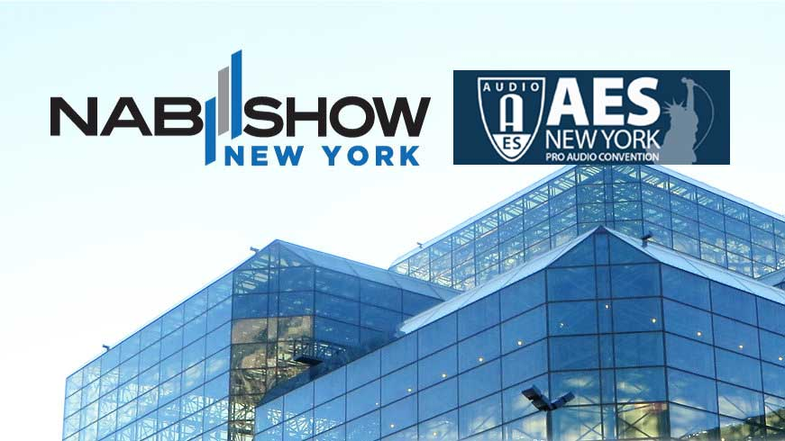 AES and NAB NY 2019