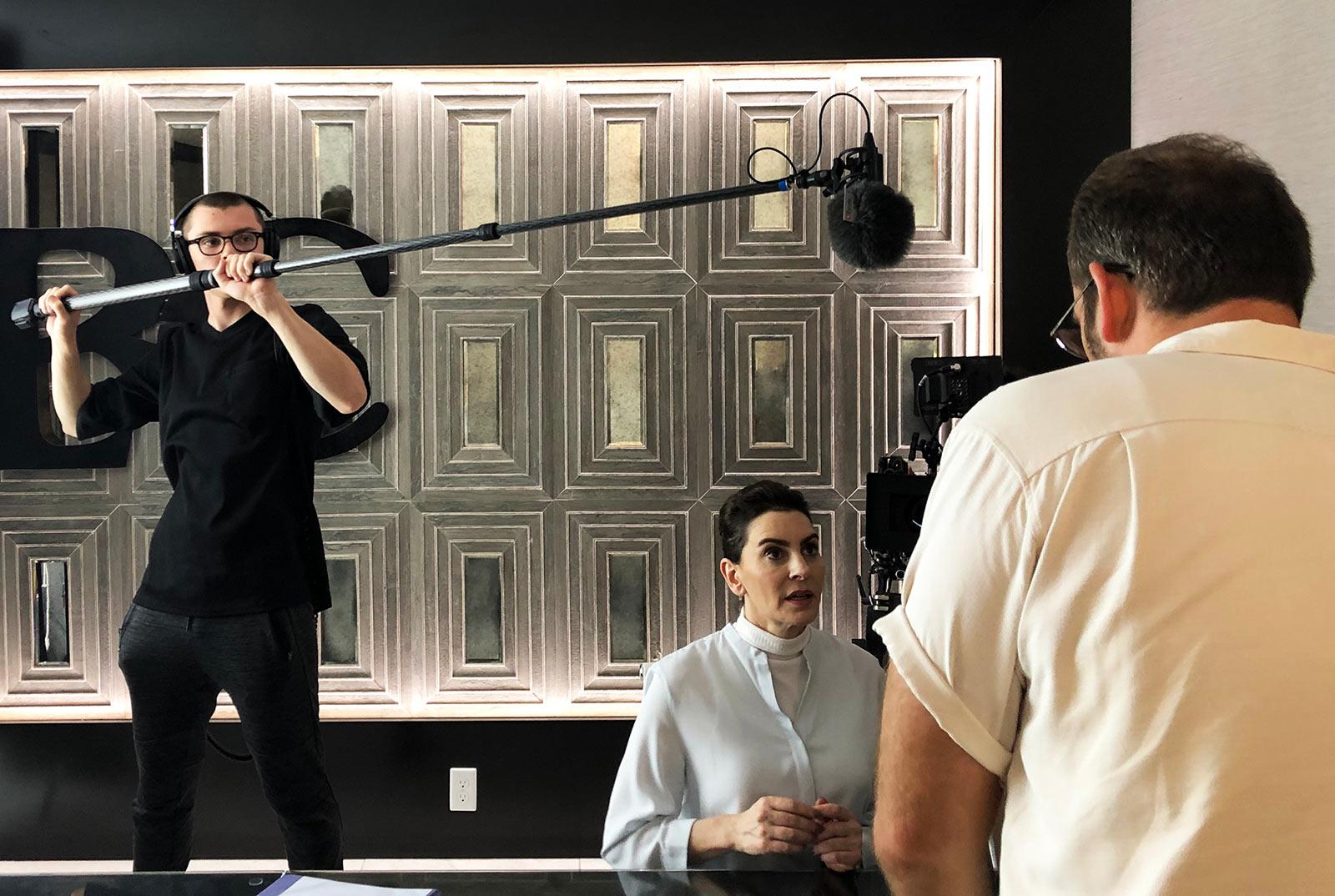 Ian Orlando Booms Sanken CS-M1 Shotgun for Feature Film