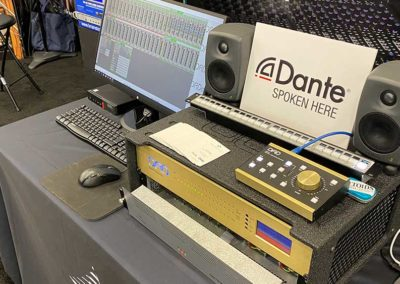 NTP and DAD demo showing MOM, DAD AX32 and Penta 720 with DADman software