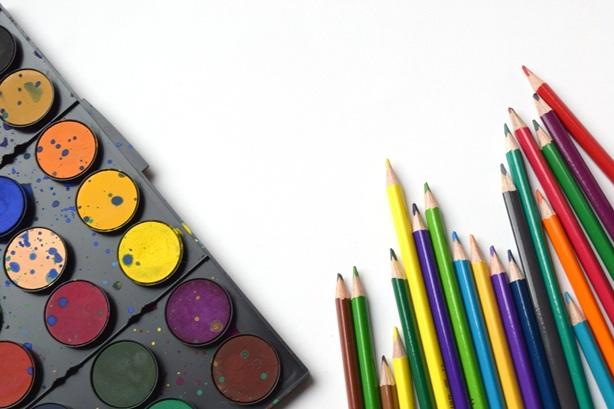 Pencil Rainbow Art