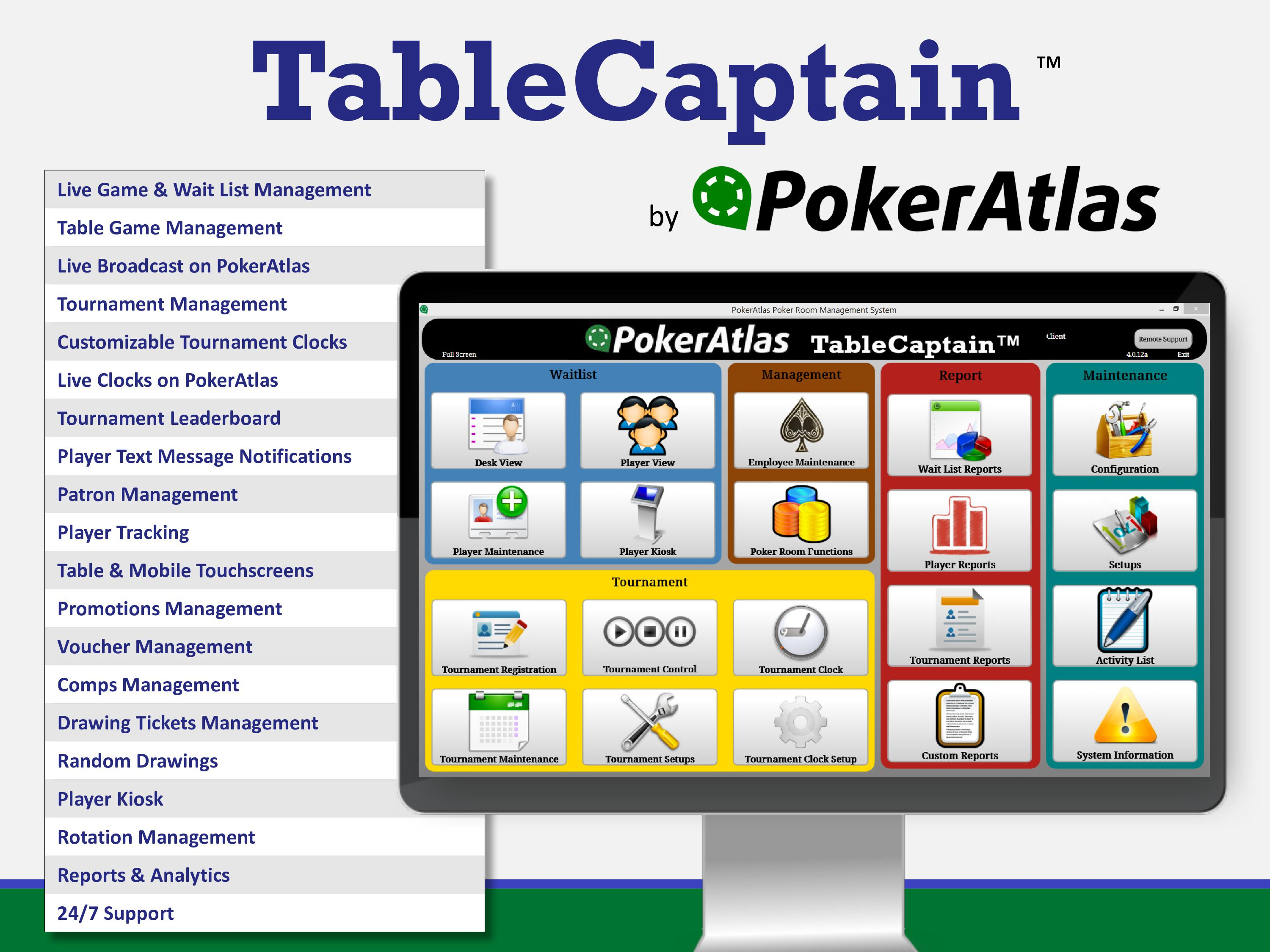 PokerAtlas TableCaptain