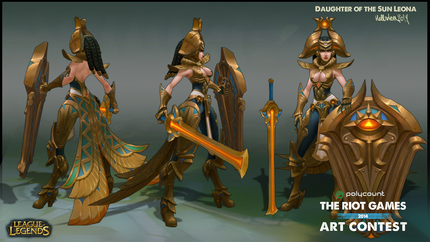 League Of Legends Character Design Contest : Riot games art contest winning entries — polycount