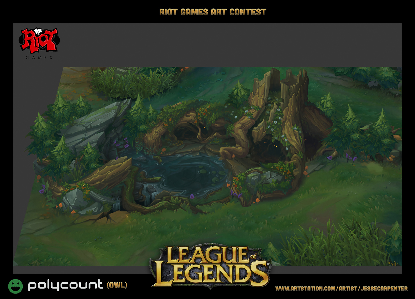 Riot Games Art Contest 2014 Winning Entries Polycount