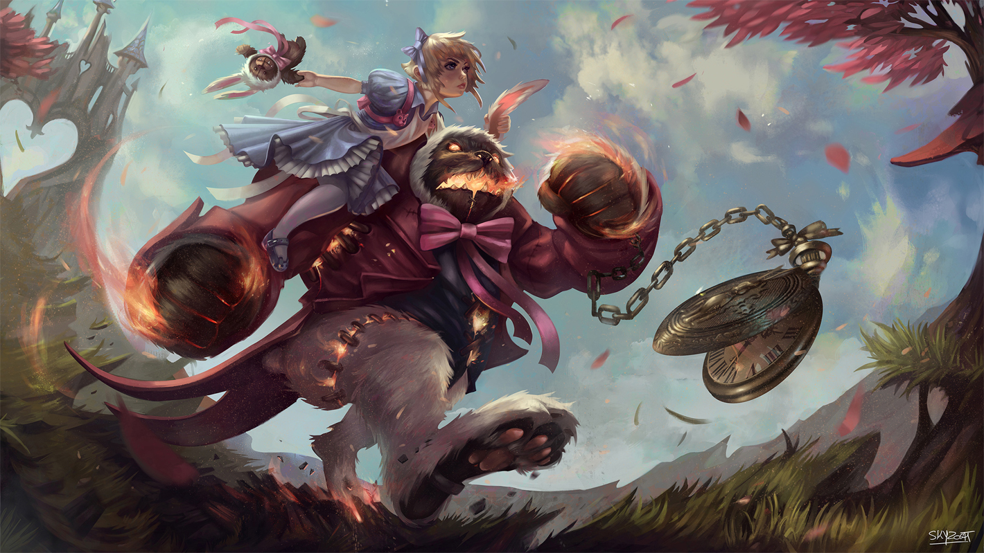 RIOT GAMES ART CONTEST 2014: Winning Entries — polycount