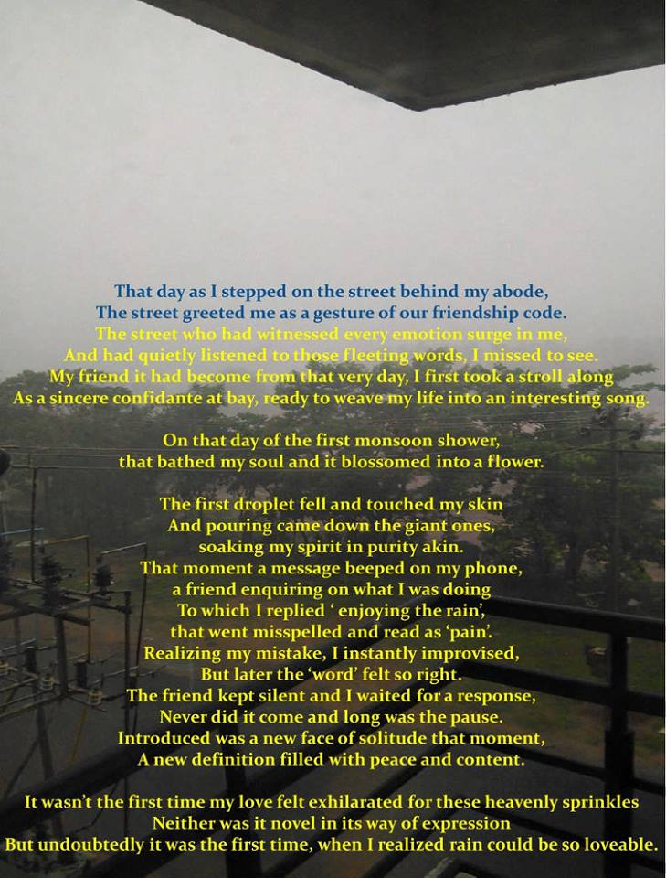 The Pre-Monsoon Winds- 'The Story'