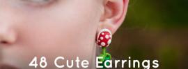 48 Cute Earrings for Nerdy Girls
