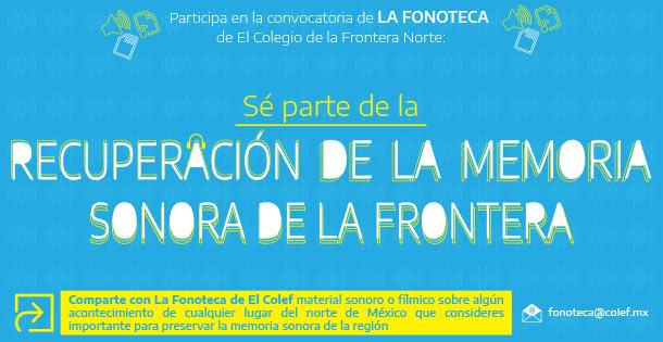 Banner Fonoteca, permanente