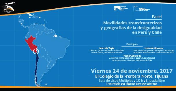 Banner PANEL  Movilidades transfronterizas y geografías de la desigualdad en Perú y Chile