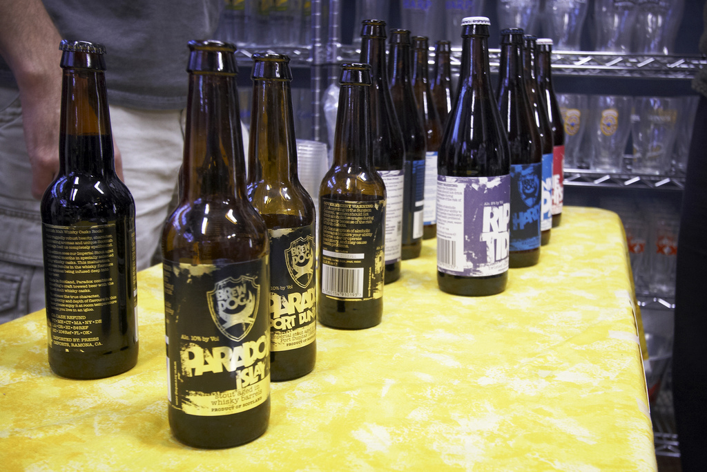 BrewDog Tasting at Belmont Station