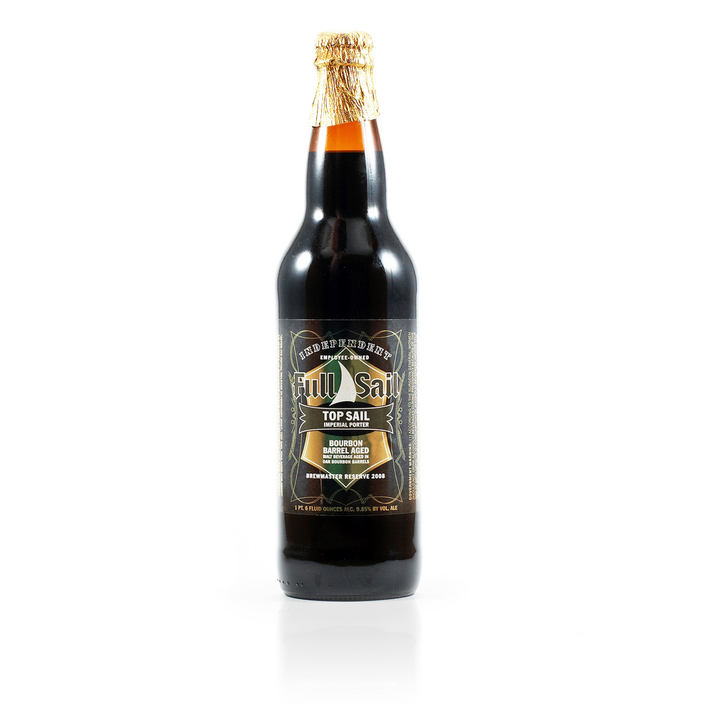 52 Beers Group, Week 20: Topsail Bourbon Barrel Imperial Porter, Full Sail Brewing
