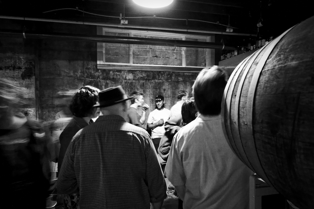 2009.06.13 -- Baltic and Imperial Porter Tasting at Upright Brewing