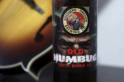 Southern Oregon Brewing's Old Humbug Winter Warmer