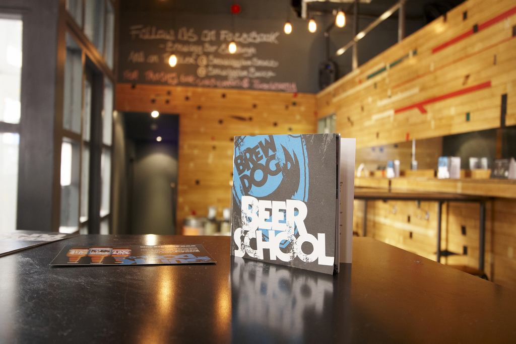 Scotland: Brewdog, Edinburgh