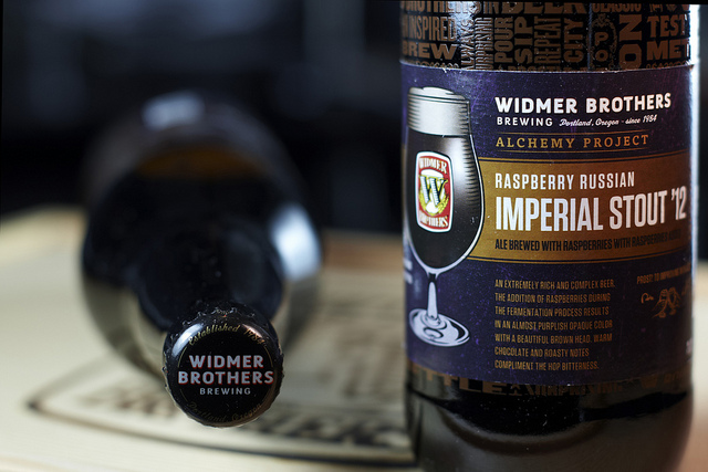 Raspberry Russian Imperial Stout '12 from Widmer Brothers Brewing